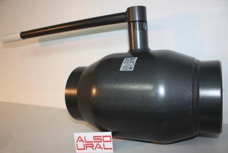 Кран шаровый приварной КШ.П.150.25-01 Ду150 Ру25